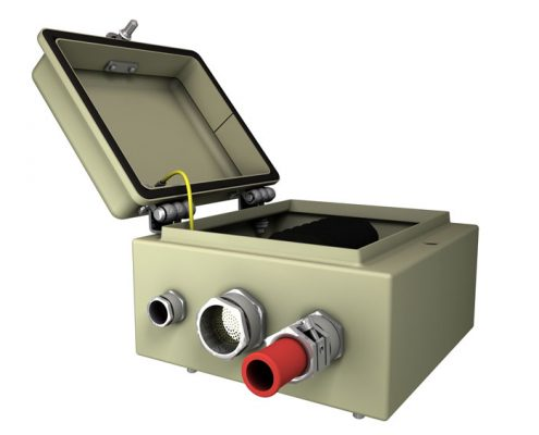 Stahlgehäuse System 03-HUNDT Elektrosysteme