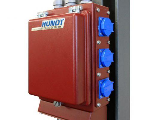 Stahlgehäuse System 05-HUNDT Elektrosysteme