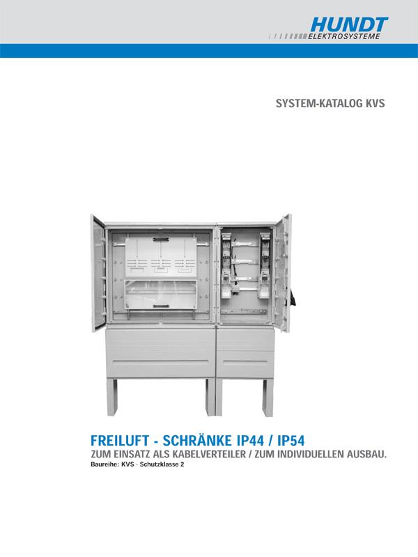 Freiluft - Schränke IP44 / IP54 – HUNDT Elektrosysteme
