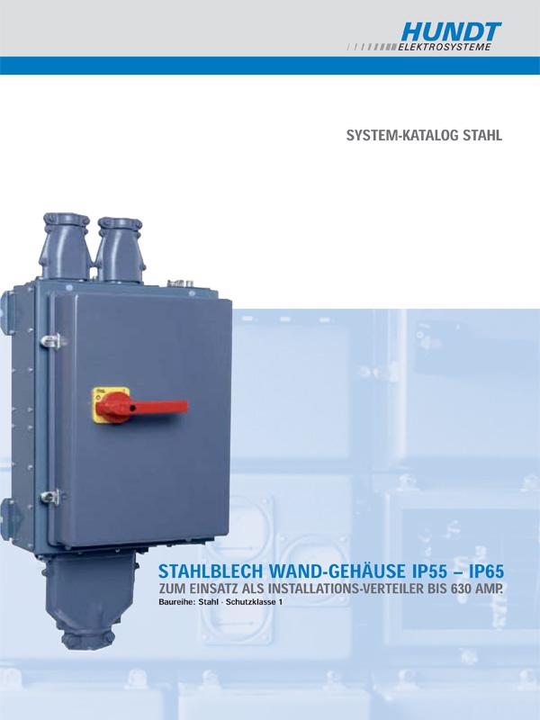 Stahlblech Wand-Gehäuse IP55 - IP65 – HUNDT Elektrosysteme