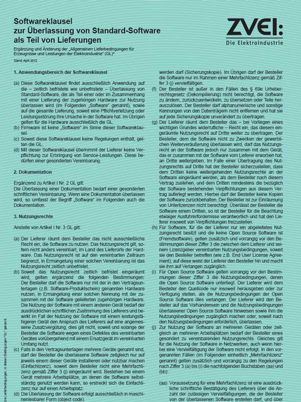 Standard-Software-HUNDT Elektrosysteme