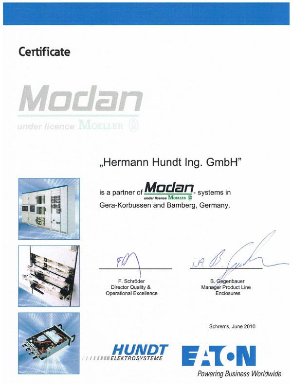 Eaton Modan 6000 – HUNDT Elektrosysteme